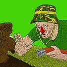 Bill Murray Caddy Shack by CultureCloth