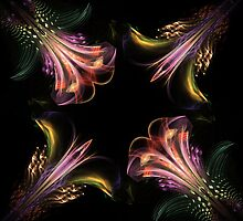 Exotic flowers by vivien styles