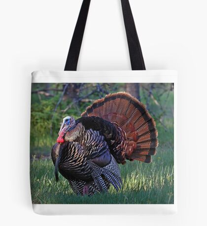 Tom Turkey - Wild Turkey Tote Bag