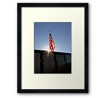 Remembering Our Heros Framed Print