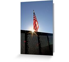 Remembering Our Heros Greeting Card