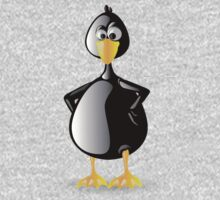 Piqued Penguin One Piece - Long Sleeve