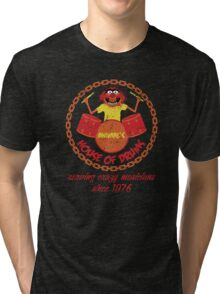 House of Drums (distressed) Tri-blend T-Shirt