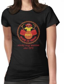 House of Drums (distressed) Womens Fitted T-Shirt