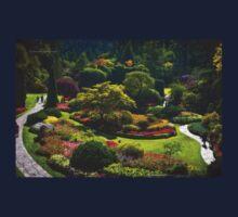 Sunken Garden - Butchart Garden Kids Tee