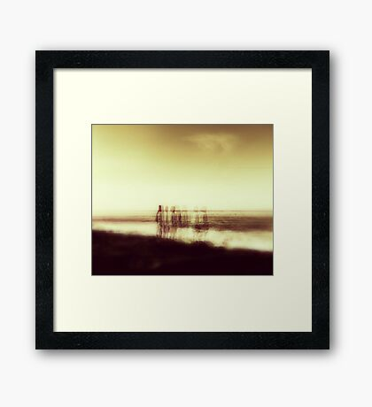 SOULS BY THE SEA Framed Print