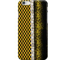 Funky Faux Rhinestone Animal Print & Checked Iphone or Ipod Case iPhone Case/Skin