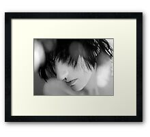 What They Don't See - Self Portrait Framed Print