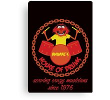 House of Drums Canvas Print