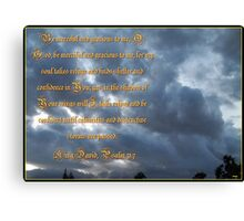 Psalm 57 One Canvas Print