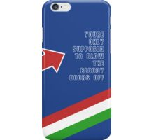 The Italian Job  iPhone Case/Skin