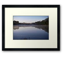 Misty Water Framed Print