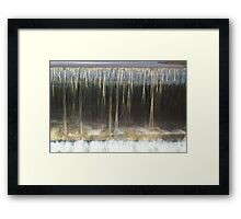 Running Water Framed Print