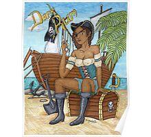Dark Rum Pirate vers 2 Poster