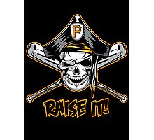 Raise The Jolly Roger!! Photographic Print