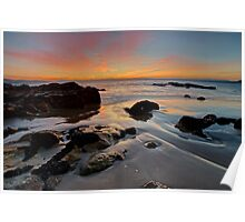 Roches Beach Sunrise HDR Poster