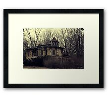 Victorian Decay Framed Print