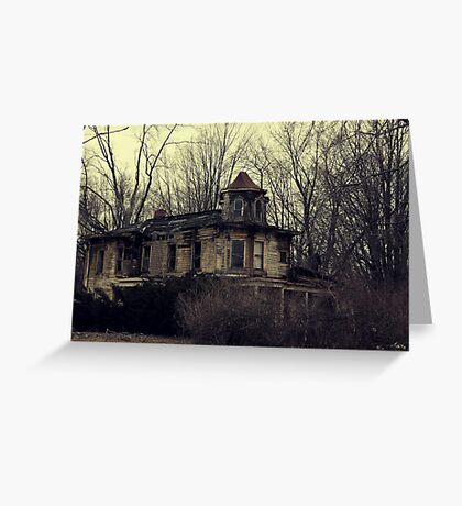 Victorian Decay Greeting Card