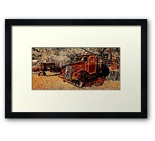 Marin Rust Framed Print
