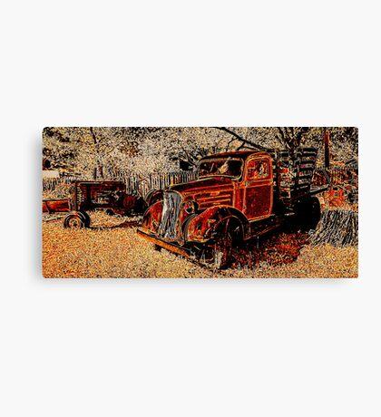 Marin Rust Canvas Print