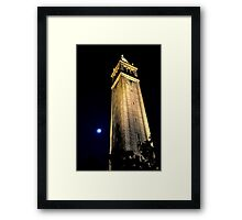 Cal Berkeley Bell Tower Framed Print