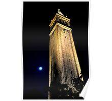 Cal Berkeley Bell Tower Poster