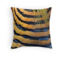 Five (or so) Golden Rings Throw Pillow