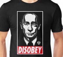 Putin Disobey Unisex T-Shirt