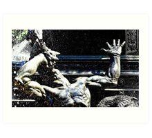 Bacchanalia... for Byron and Fern , with gratitude Art Print