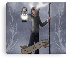 TAU Tarot: 9, The Hermit Canvas Print