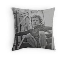 Me. Anno Domini 1957 . Ad futuram rei memoriam . Always creative and always remembering to stop and smell the roses ! Throw Pillow