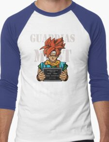Guardias Most Wanted Men's Baseball ¾ T-Shirt