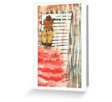 Longing, watercolor Greeting Card