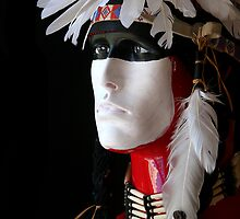 Abstract Mandan Warrior by debsrockine