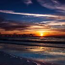 Gulf of Mexico Sunset by alan shapiro