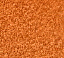 Orange Pebbled Leather Look by cinn
