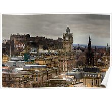 Calton Hill View Poster
