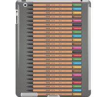 Row of Stabilo Pens iPad Case/Skin