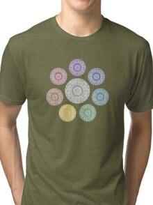 colours of life - chakras Tri-blend T-Shirt