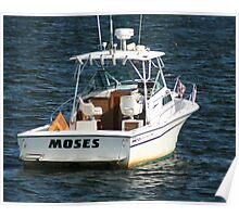 A Boat named Moses Poster