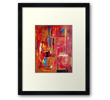 Intensity with Feeling Framed Print