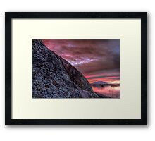 Half and Whole Framed Print