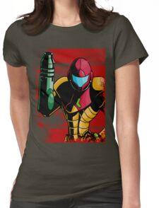 Samus Womens Fitted T-Shirt
