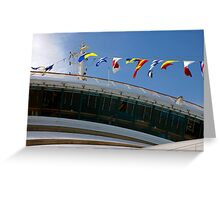 Airing the Flags Greeting Card