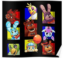 Five Nights at Freddy's Gang Poster