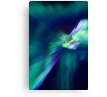 Aurora Borealis corona Canvas Print