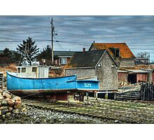 Port Maitland Fishing Boat Photographic Print