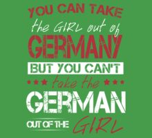You Can Take The Girl Out Of Germany! Baby Tee