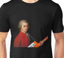 Mozart with a keytar Unisex T-Shirt