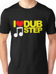I LOVE DUBSTEP (YELLOW)  Unisex T-Shirt